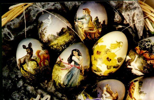 Atelier Dorothee Menzel Tier Und M 228 Rchenbilder Auf Ei
