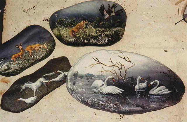 Steine An Wand Malen : Auf Steine Malen Malt Auch Auf Stein